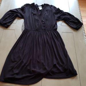 NEW Black Charming Charlie's V-Neck dress